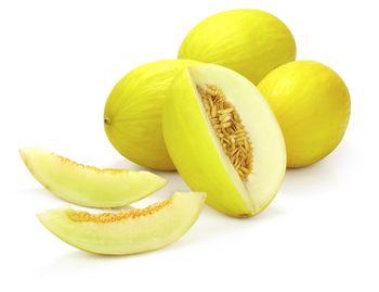 Melon żółty ważony