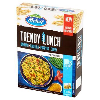 Melvit Premium Trendy Lunch basmati fasolka papryka curry 320 g (4 x 80 g)