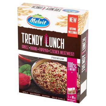 Melvit Premium Trendy Lunch okisz buraki papryka czosnek niedźwiedzi 320 g (4 x 80 g)