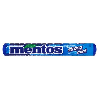 Mentos Strong Mint Cukierki do żucia 37,5 g