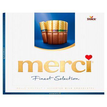merci Finest Selection Kolekcja czekoladek mlecznych 250 g