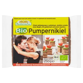 Mestemacher Bio Pumpernikiel 250 g
