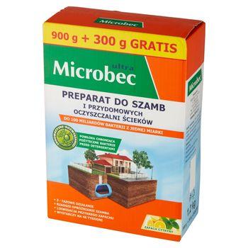 Microbec ultra Preparat do szamb i przydomowych oczyszczalni ścieków 1,2 kg