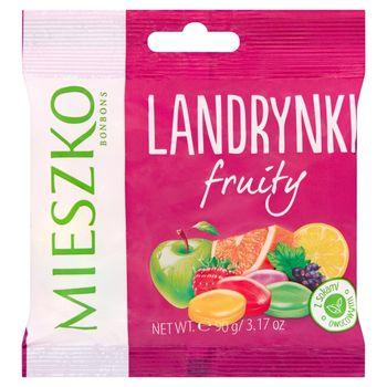 Mieszko Landrynki o smakach owocowych 90 g
