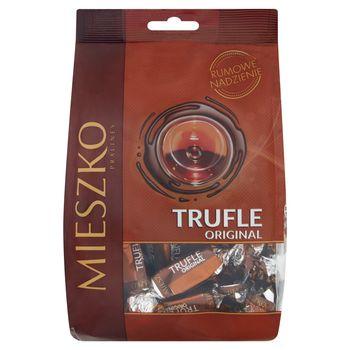 Mieszko Trufle Original Cukierki z rumem w czekoladzie 260 g