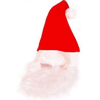 Świąteczny Zestaw Mikołaja Czapka+Broda Arpex