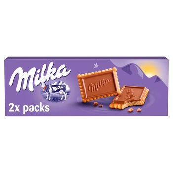 Milka Choco Biscuit Herbatniki z czekoladą mleczną z mleka alpejskiego 150 g