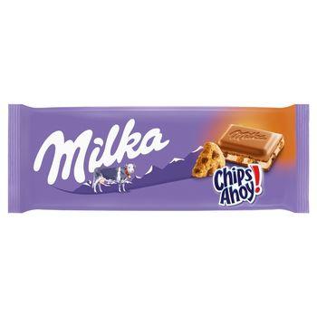 Milka Czekolada mleczna Chips Ahoy! 100 g