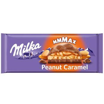 Milka Mmmax Czekolada mleczna Peanut Caramel 276 g