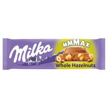 Milka Mmmax Czekolada mleczna Whole Hazelnuts 270 g