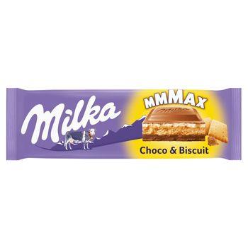 Milka Mmmax Herbatnik w czekoladzie mlecznej Choco & Biscuit 300 g