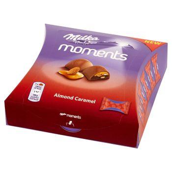 Milka Moments Czekolada mleczna Almond Caramel 96 g (11 sztuk)