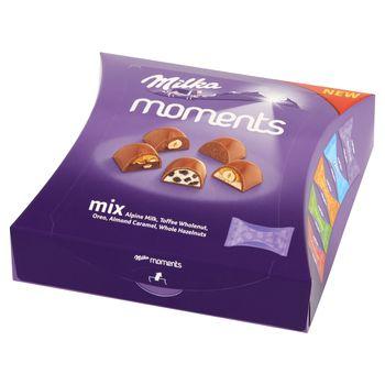 Milka Moments Mieszanka czekoladek 97 g (11 sztuk)