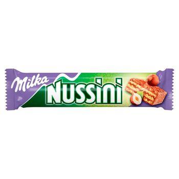 Milka Nussini Wafelek z orzechowo-kakaowym nadzieniem 31,5 g