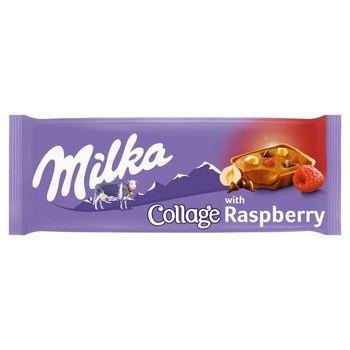 Milka Wyrób cukierniczy Collage with Raspberry 93 g