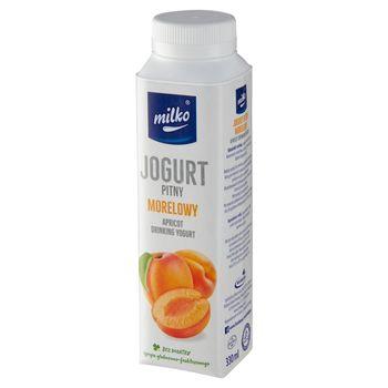 Milko Jogurt pitny morelowy 330 ml