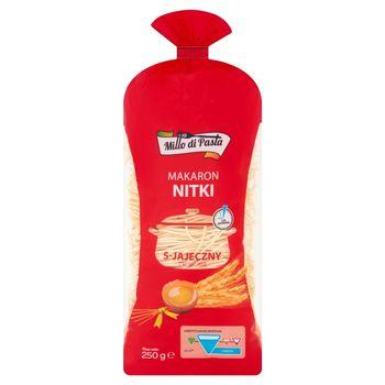 Millo di Pasta Makaron 5-jajeczny z kurkumą nitki 250 g