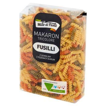 Millo di Pasta Makaron fusilli tricolore 500 g
