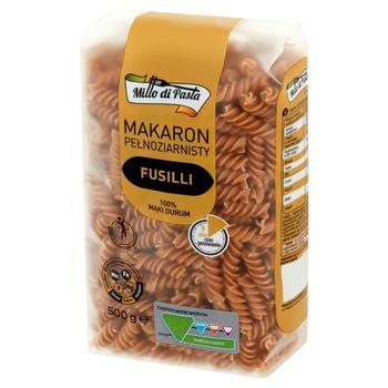 Millo di Pasta Makaron pełnoziarnisty fusilli 500 g