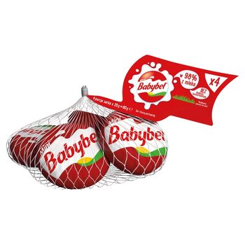 Babybel Mini Ser tłusty 80 g (4 x 20 g)