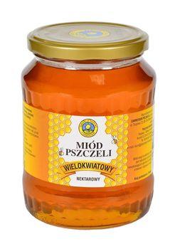 """Miód pszczeli wielokwiatowy """"Jakość z Natury Carrefour"""", 900 g"""