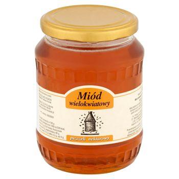 Miód pszczeli nektarowy wielokwiatowy 900 g