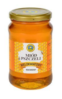 """Miód pszczeli wielokwiatowy """"Jakość z Natury Carrefour"""", 500 g"""