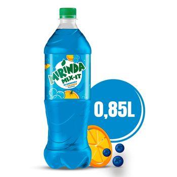 Mirinda Mix-It Blueberry&Orange Napój gazowany 0,85 l