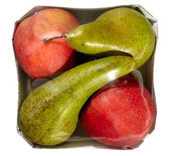 MIX jabłko i gruszka tacka