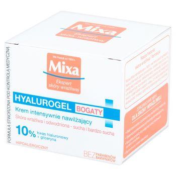 Mixa Hyalurogel Bogaty Krem intensywnie nawilżający 50 ml