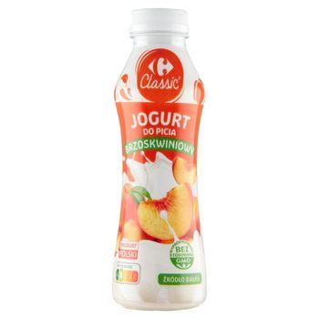Carrefour Classic Jogurt do picia brzoskwiniowy 350 g