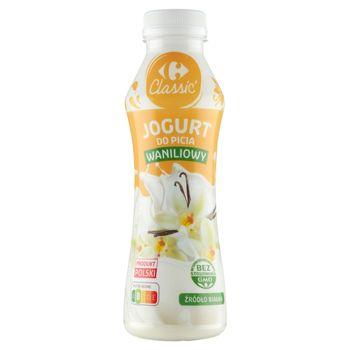 Carrefour Classic Jogurt do picia waniliowy 350 g