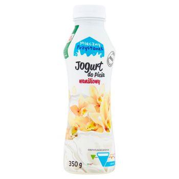 Mleczny Przystanek Jogurt do picia waniliowy 350 g