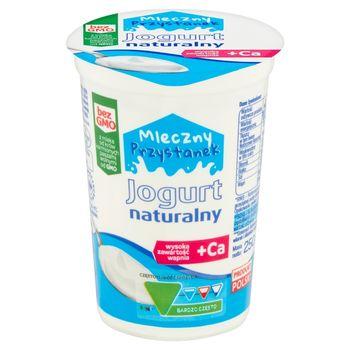 Mleczny Przystanek Jogurt naturalny 250 g