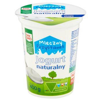 Mleczny Przystanek Jogurt naturalny 400 g