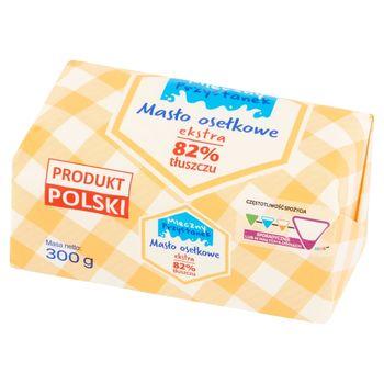 Mleczny Przystanek Masło osełkowe ekstra 300 g