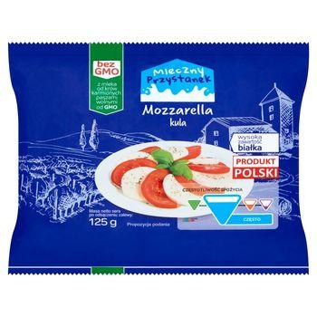 Mleczny Przystanek Ser Mozzarella kula 125 g