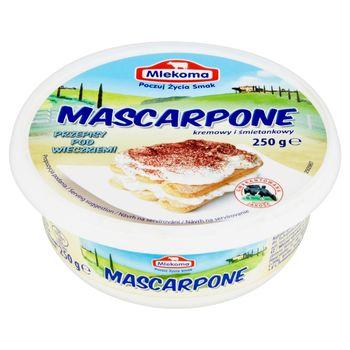 Mlekoma Mascarpone kremowy i śmietankowy 250 g