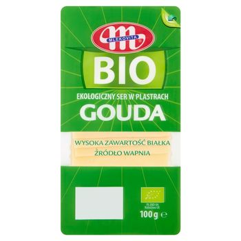 Mlekovita BIO Ekologiczny ser w plastrach Gouda 100 g