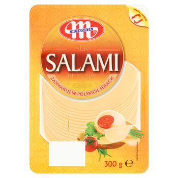 Mlekovita Ser Salami plastry 300 g
