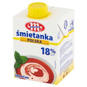 Mlekovita Śmietanka Polska 18% 500 ml