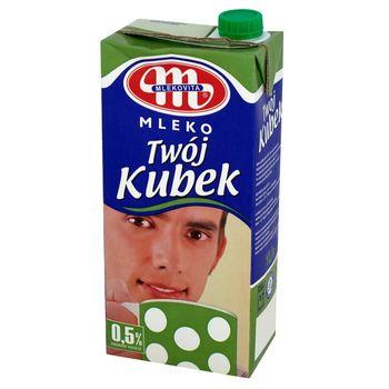 Mlekovita Twój Kubek Mleko UHT 0,5% 1 l