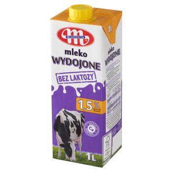 Mlekovita Wydojone Mleko bez laktozy 1,5 % 1 L