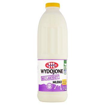 Mlekovita Wydojone Mleko bez laktozy 2,0% 1 l