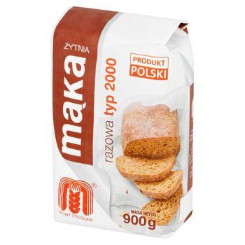Młyny Stoisław Mąka żytnia razowa typ 2000 900 g