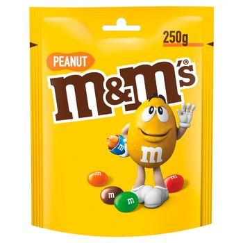M&M's Peanut Orzeszki ziemne oblane czekoladą w kolorowych skorupkach 250 g