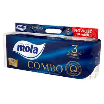 Mola Combo Papier toaletowy 10 rolek