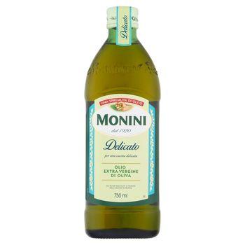 Monini Delicato Oliwa z oliwek najwyższej jakości z pierwszego tłoczenia 750 ml