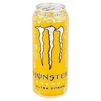 Monster Energy Ultra Citron Gazowany napój energetyczny 500 ml