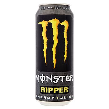 Monster Ripper Gazowany napój energetyzujący 500 ml